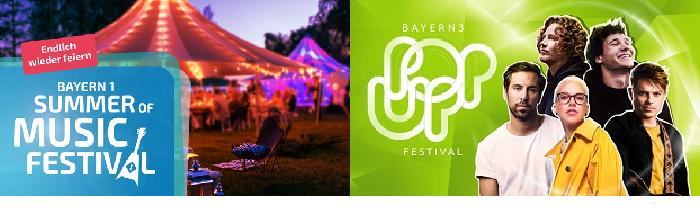 BAYERN 1 Summer of Music Festival & BAYERN 3 POP-up Festival